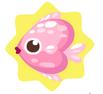 Pink Heartfish