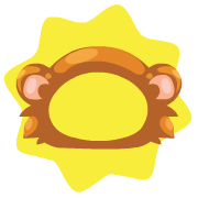 Hideeni monkey costume hat