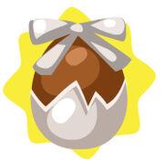 Homegrown white egg