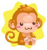 Happy monkey hat