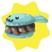 Chocolate creamfish