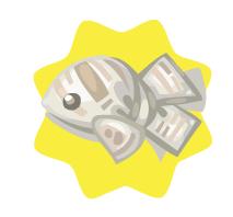 Newspaper fish