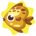 Golden heartfish