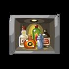 Secret vault painting drinks