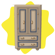 Dreamy home wardrobe