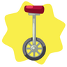 Carnival unicycle