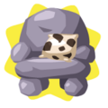 Rock armchair