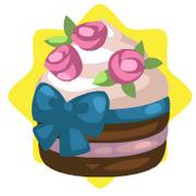 Strawberries and cream cupcake