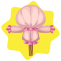 Pink build-a-scarecrow base