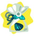 Tropical rainforest flower seed