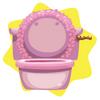 Rapunzel princess toilet