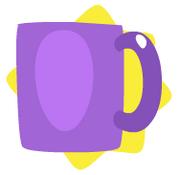 Purple mug