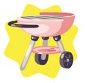 Pink Mini Grill