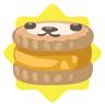 Safari yellow petling biscuit