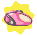 Pink tennis bag