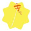Orange kite