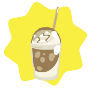 Ice blended coffee