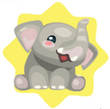 Stampy elephant twin