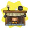 Cinderella home fireplace