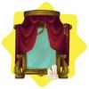Haunted opera mirror
