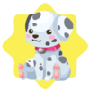 Cute dalmation plushie