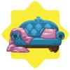 Rapunzel princess sofa