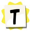 T sticker