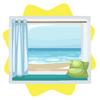 Ocean front window