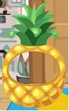Pineapple mask floor