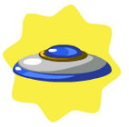 Sapphire frisbee