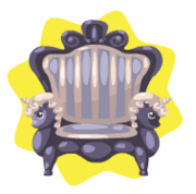 Dark olympus chair