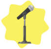 Microphone decor