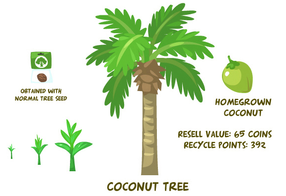 Coconut tree summary