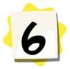 6 sticker