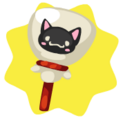 Halloween cat lollipop