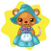 Cinderella mouse plushie