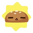 Shocked burger bun