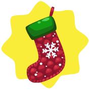 Petmas 2010 snowflake stocking
