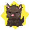 Yorkshire terrier plushie
