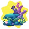 Mermaid kingdom chair