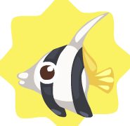 Schooling-Bannerfish