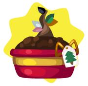 Christmas tree mystery pot