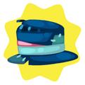 Gentleman scarecrow hat
