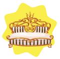 Golden Olympus Bed