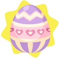 Purple egg