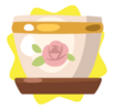 Rose Flower Pot