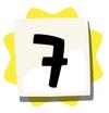 7 sticker