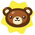 Teddy's head ornament