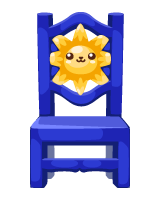 Free-gift-day-of-the-dead-blue-chair
