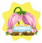 Spring faerie bed
